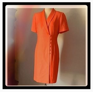 KASPER coral new dress